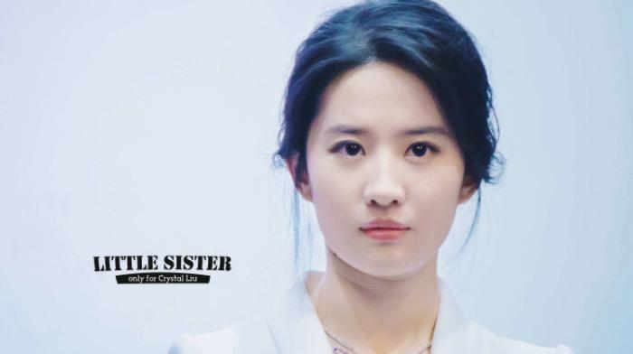 """刘亦菲的天赐颅顶比,""""头包脸""""女孩到底多吃香"""